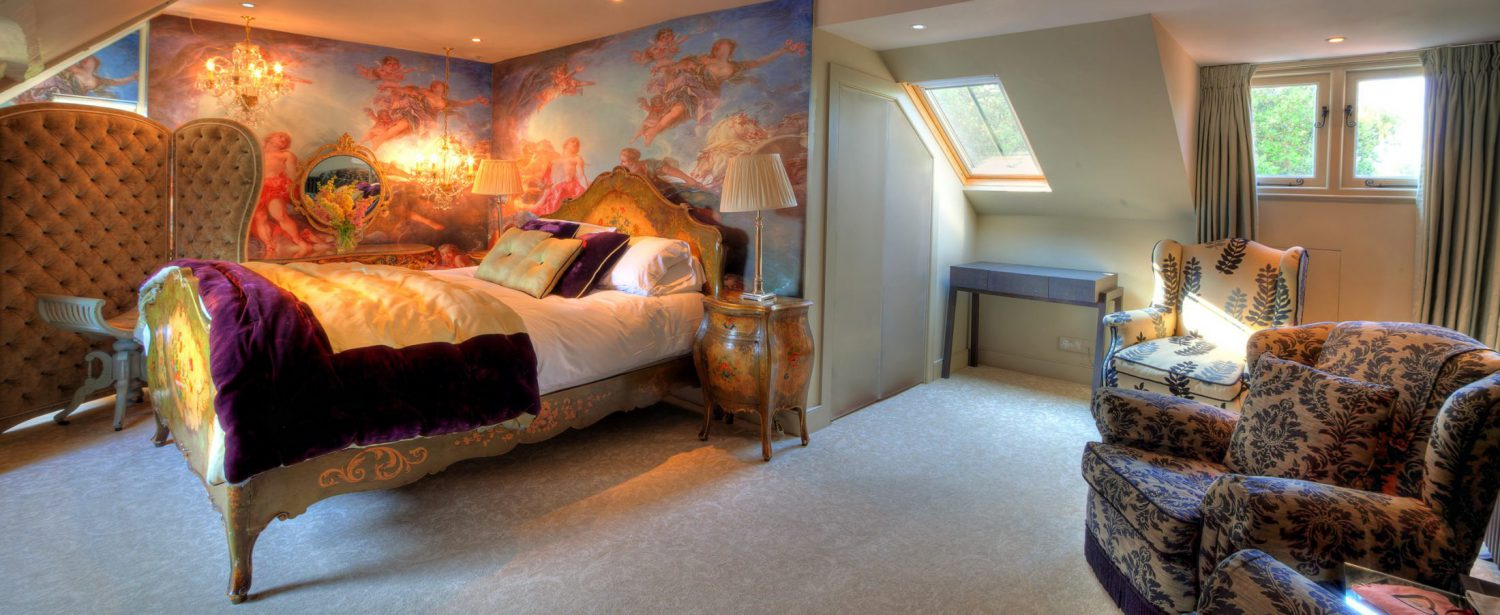 Strattons Hotel Luxury Boutique Accommodation, Swaffham, Norfolk - The Boudoir Suite