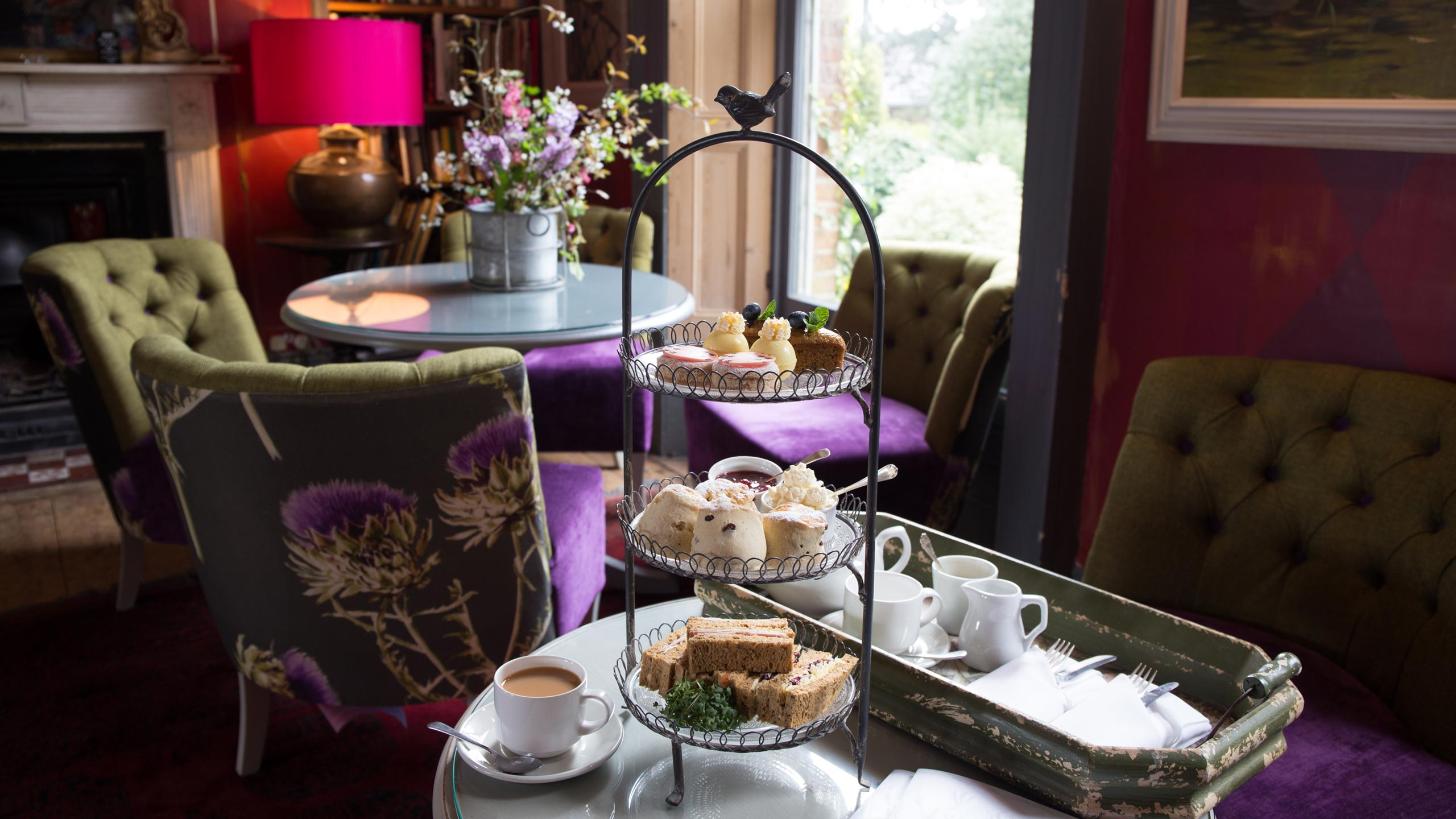 Strattons Hotel Afternoon Tea, Swaffham, Norfolk