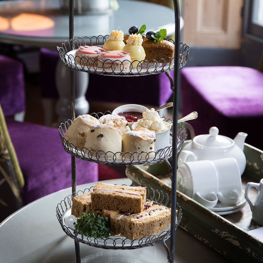 Afternoon tea at Strattons Hotel, Norfolk