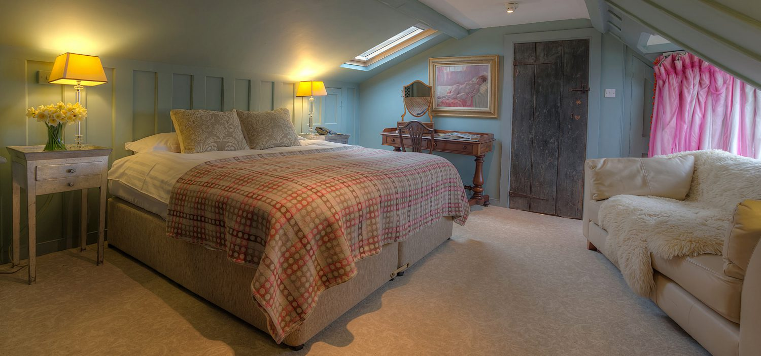 Strattons Hotel Luxury Boutique Accommodation, Swaffham, Norfolk - Portico Bedroom