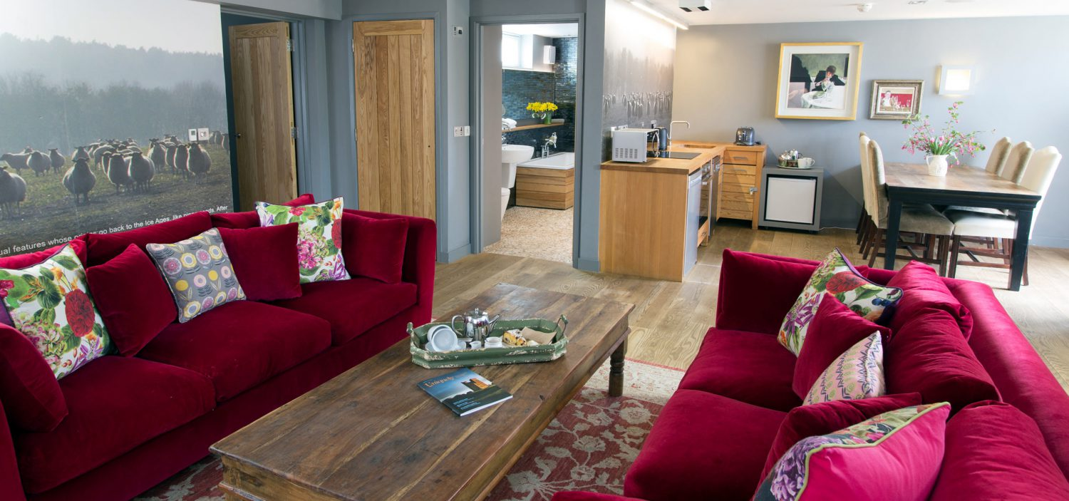 Strattons Hotel Luxury Boutique Accommodation, Swaffham, Norfolk - Print One Suite