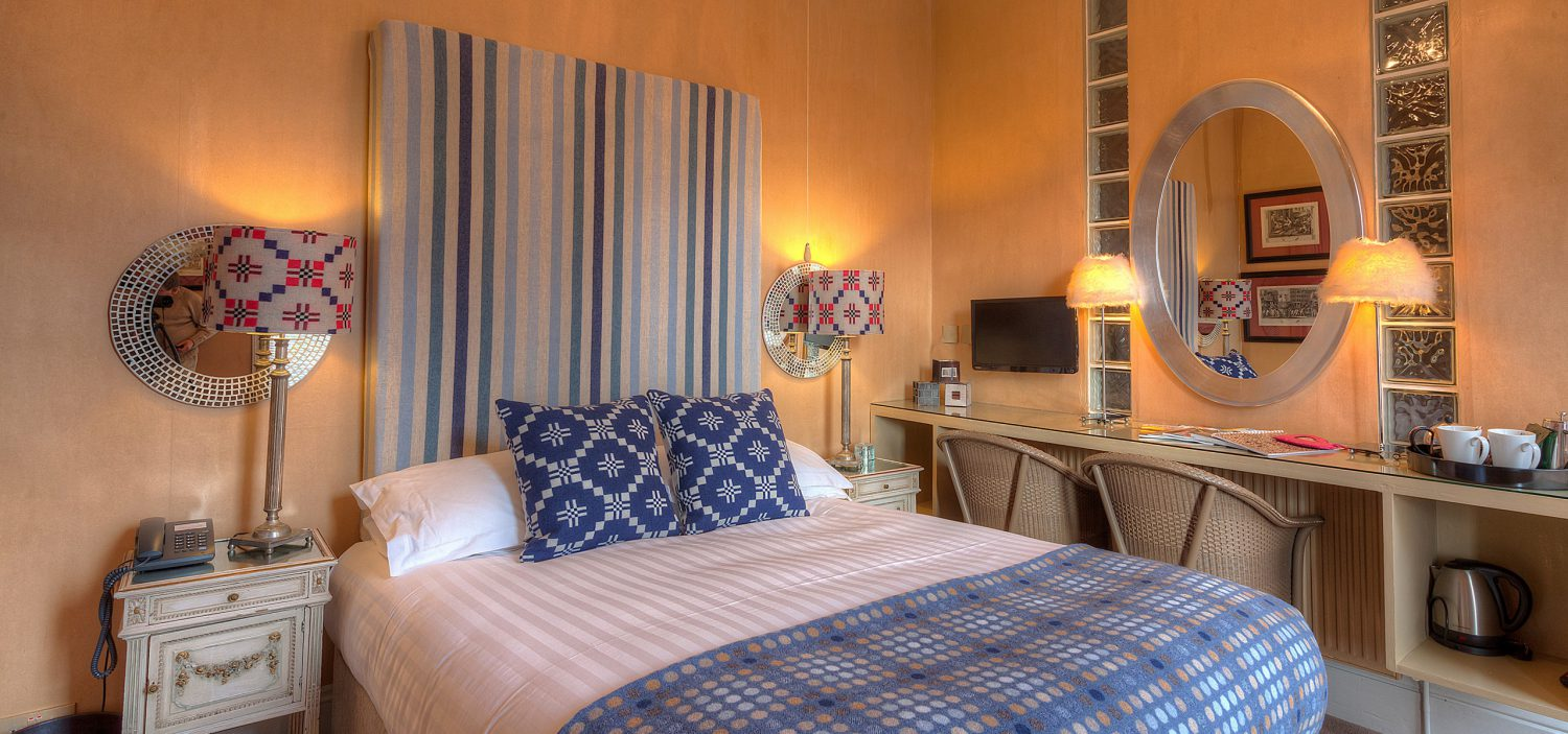 Strattons Hotel Luxury Boutique Accommodation, Swaffham, Norfolk - Seagull Bedroom