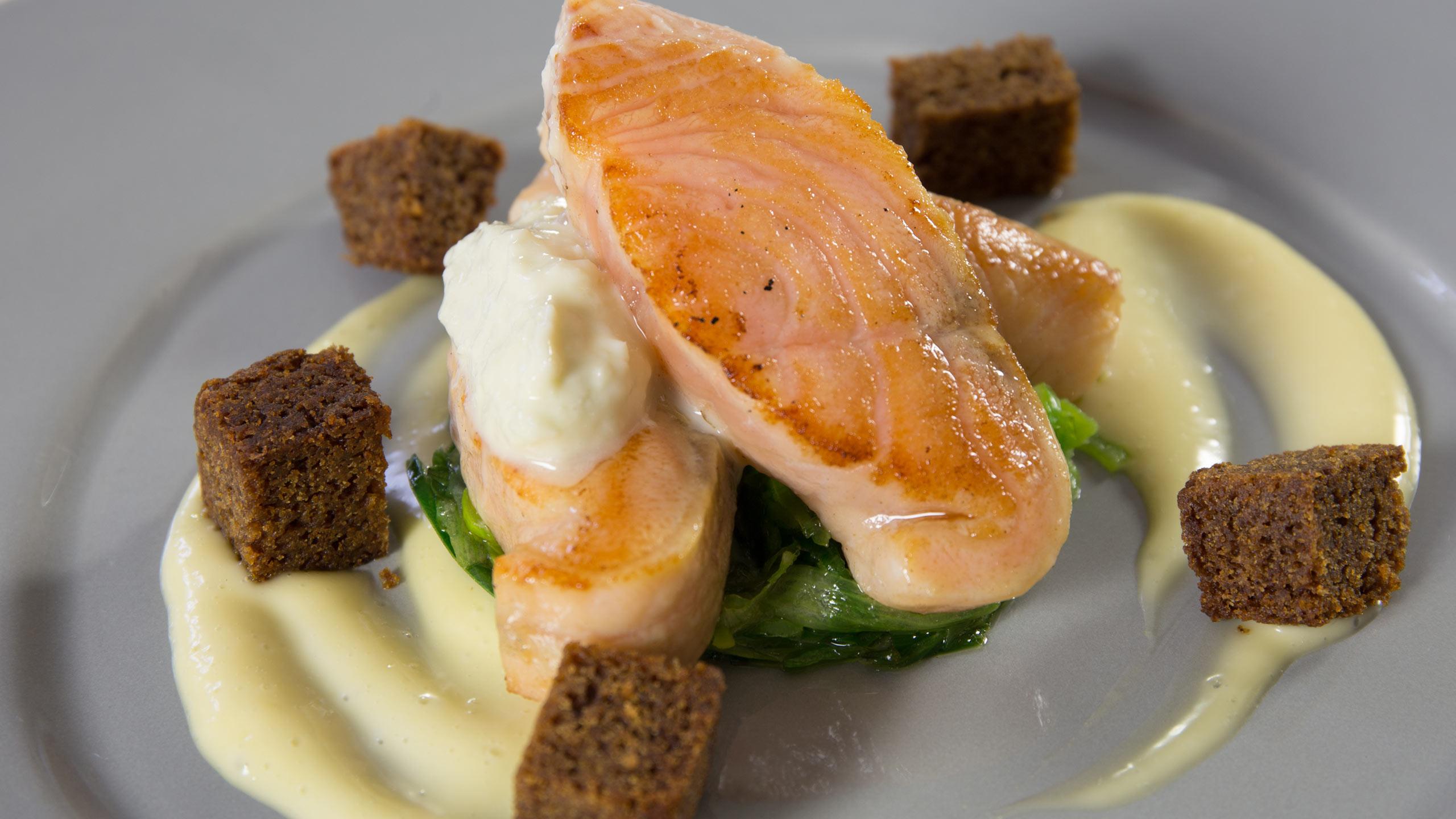 Strattons hotel restaurant. Modern cuisine in the heart of Norfolk